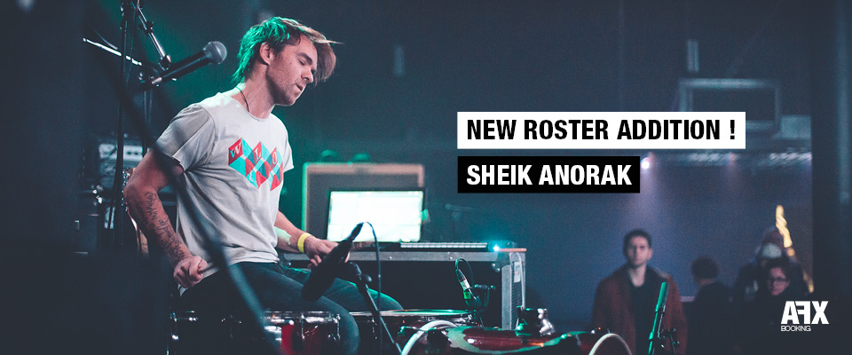 New roster addition : Sheik Anorak