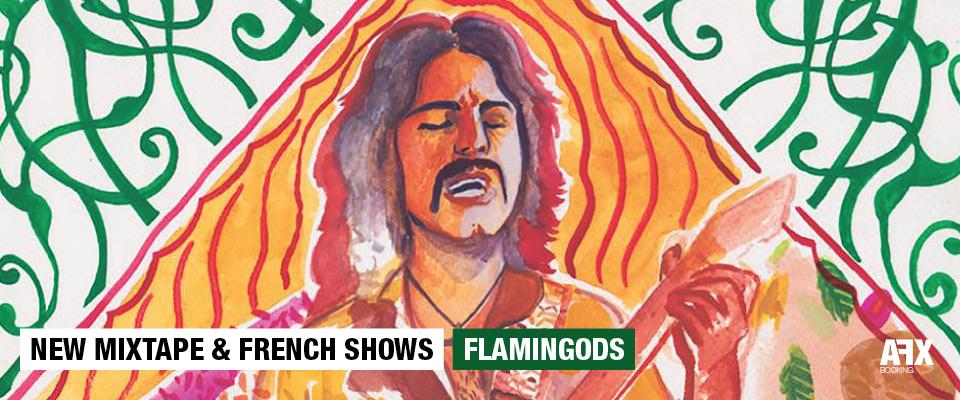 Flamingods new mixtape & french shows