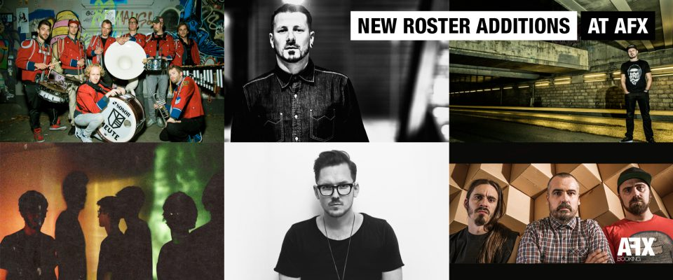 New Roster additions