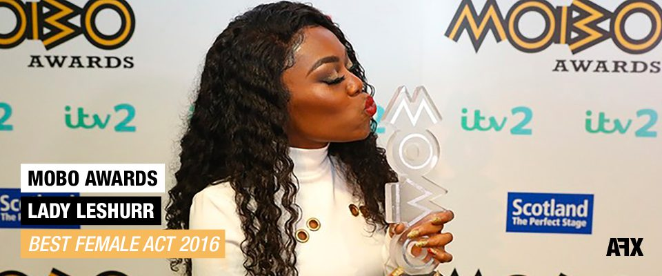 Lady Leshurr Mobo Awards