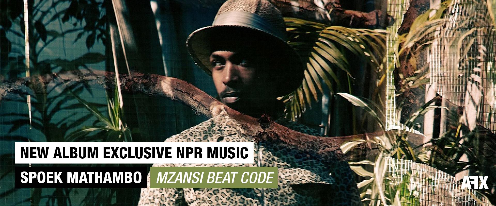 SPOEK MATHAMBO : NOUVEL ALBUM EN EXLCUSIVITÉ SUR NPR MUSIC